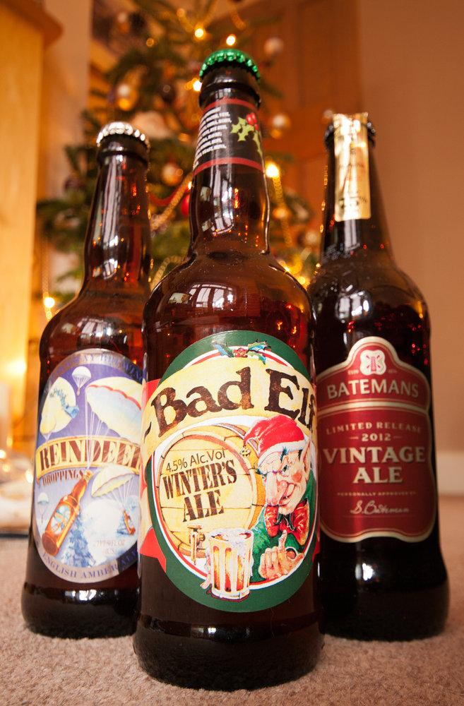 We 3 beers...