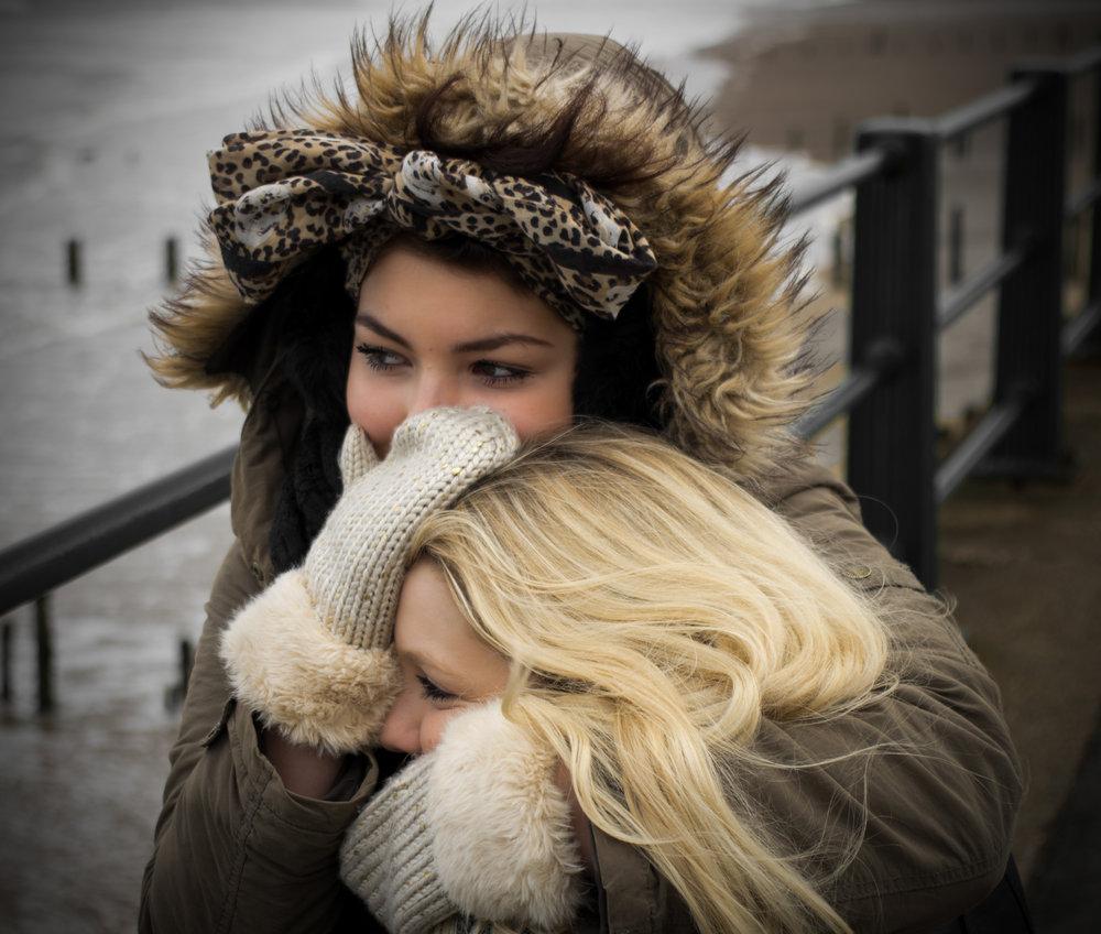 Wrap up warm and hug
