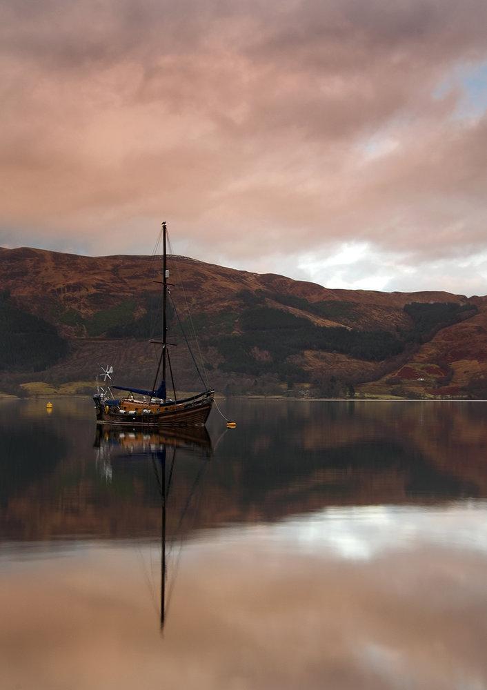 Boat & Still Water