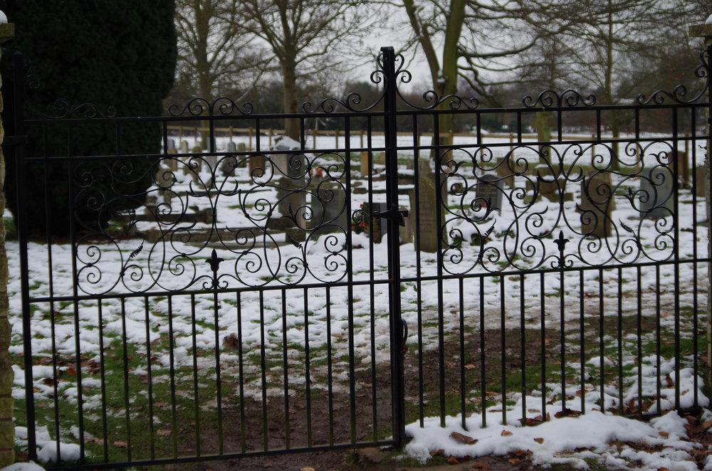 Grave yard gates