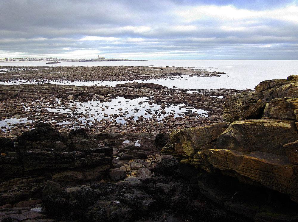 Low Tide Newbiggin Bay