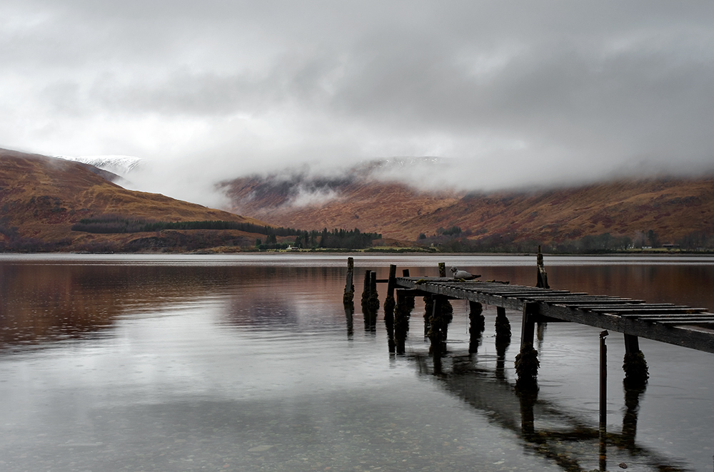 Raindrops on The Loch