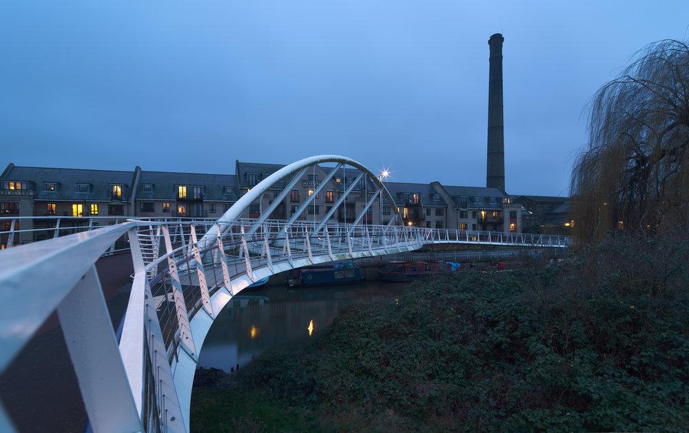 Riverside Bridge, Cambridge