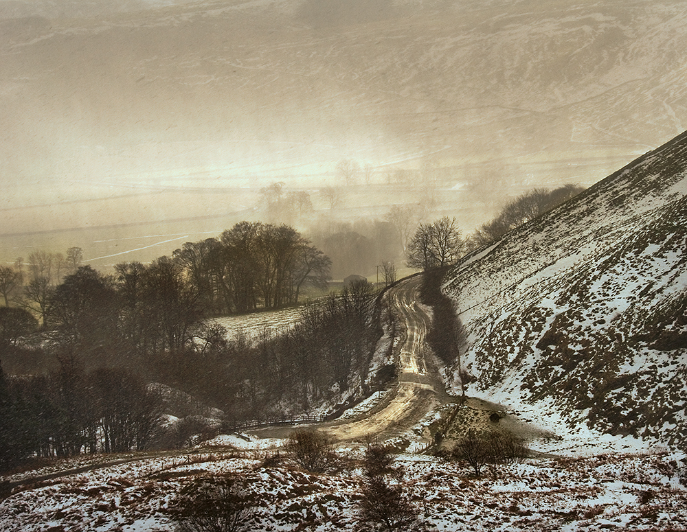 Winter Squall over Hope Valley