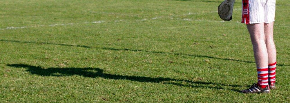 Hurling player shadow