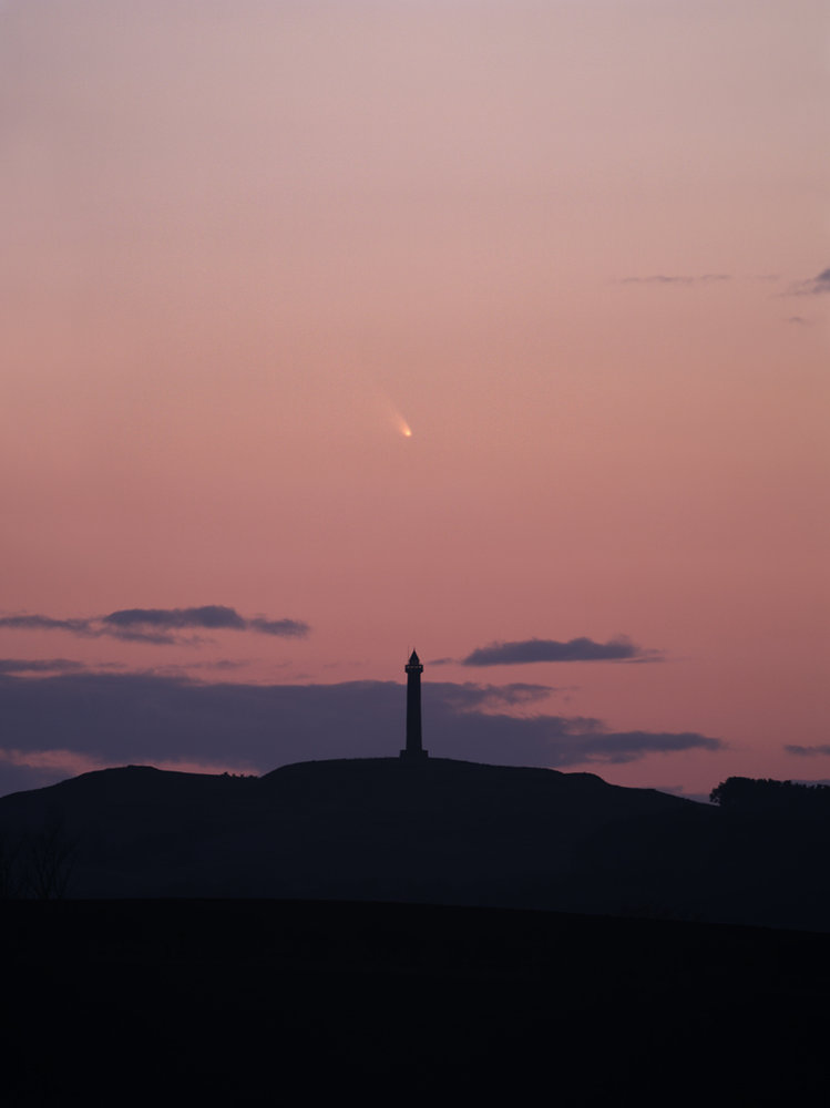Comet C/2011 L4 PANSTARRS from Kelso 13/03/2013