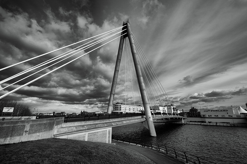 The Marine Way Bridge...