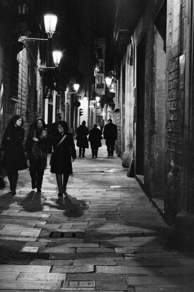 A Night in Barcelona