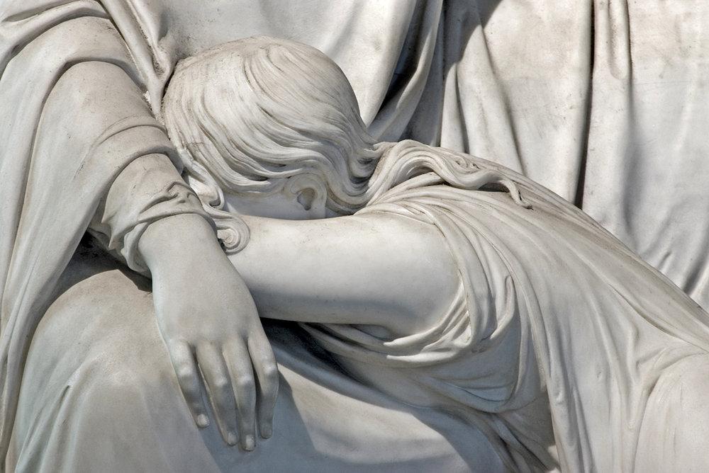 DETAIL OF J WILDMAN MONUMENT