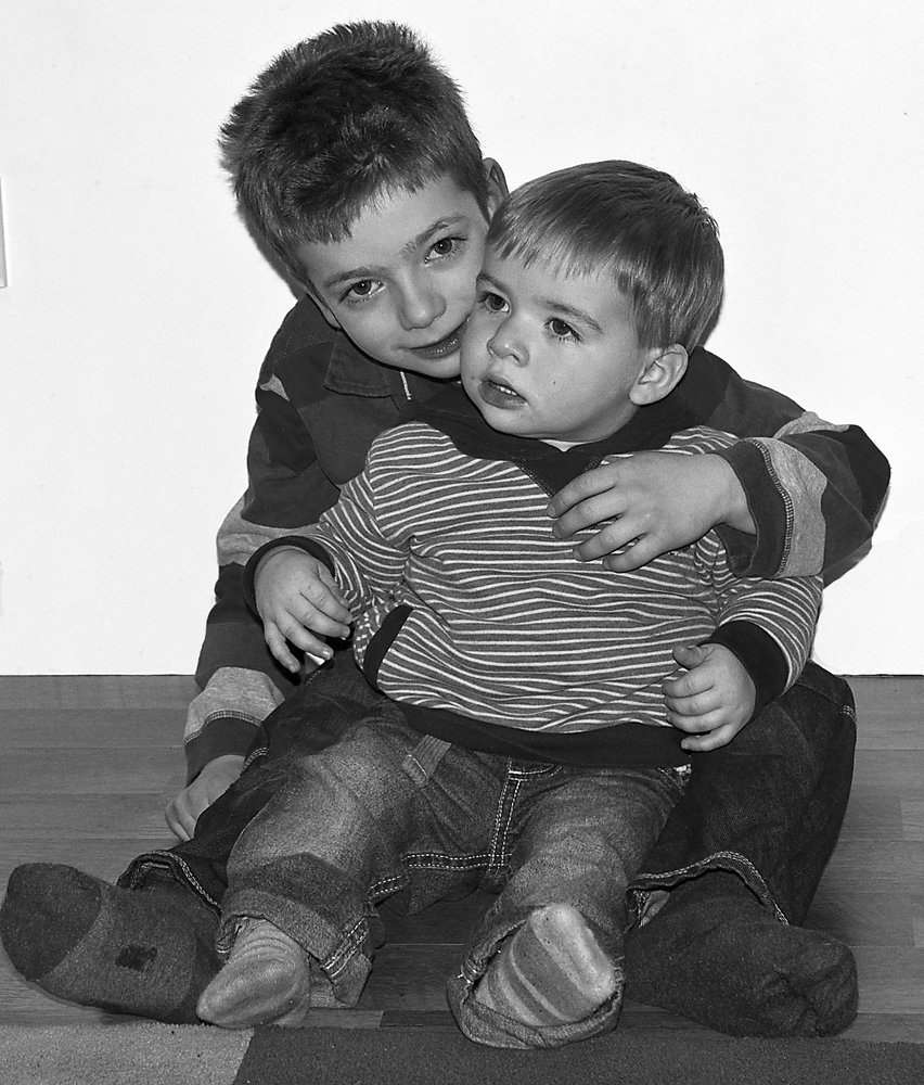 Dylan and Finlay