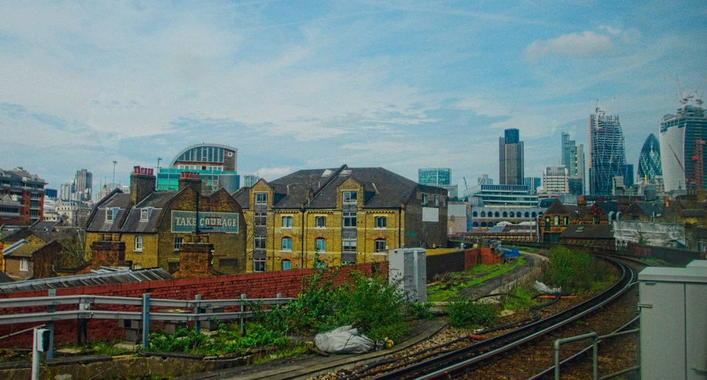 Heading into Waterloo East Station