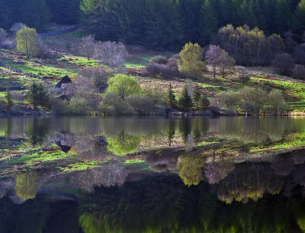 Loch Doon -Springtime -Reflections