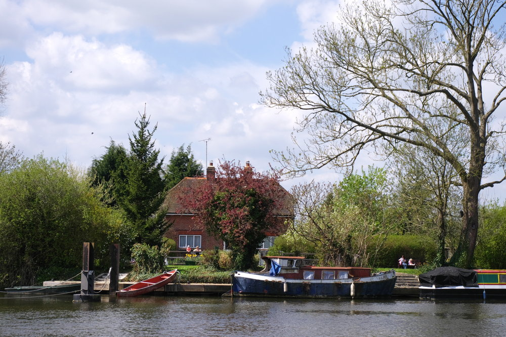 The lock keeper's house