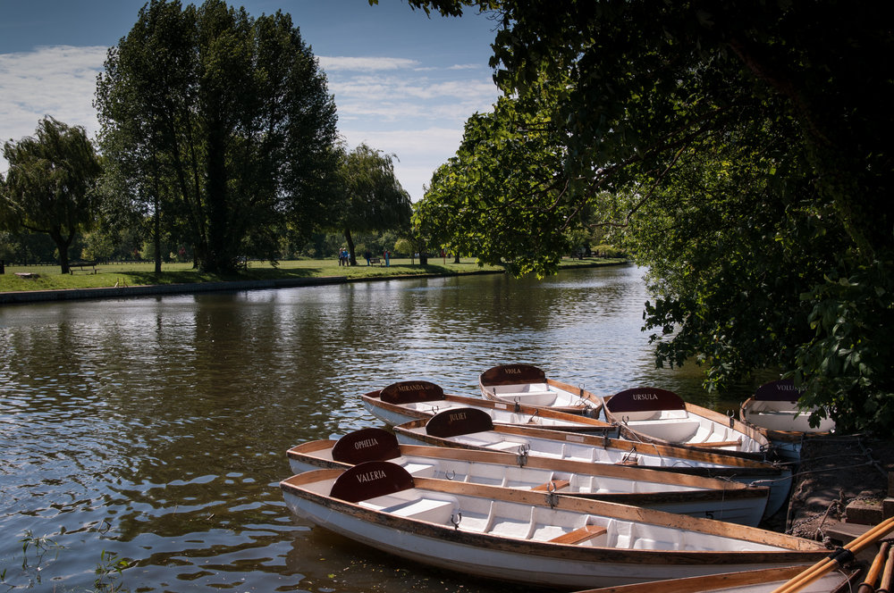 Boats on the Avon