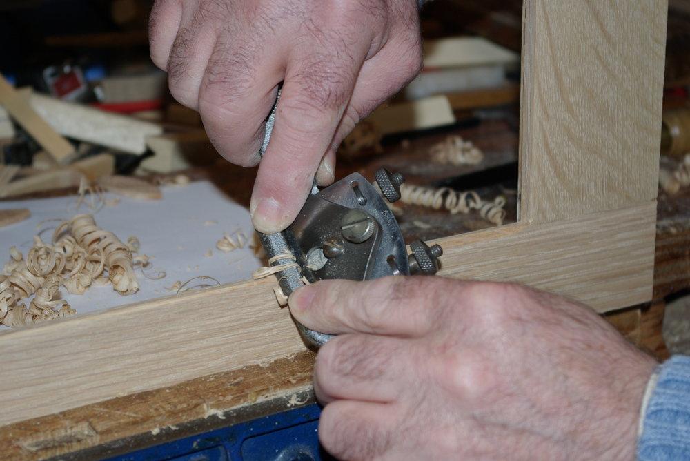 Cutting chamfers