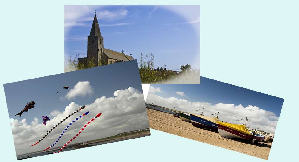 Postcards from Newbiggin by the Sea