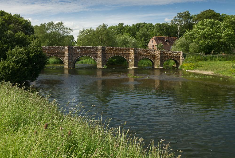 White Mill bridge, Wimborne