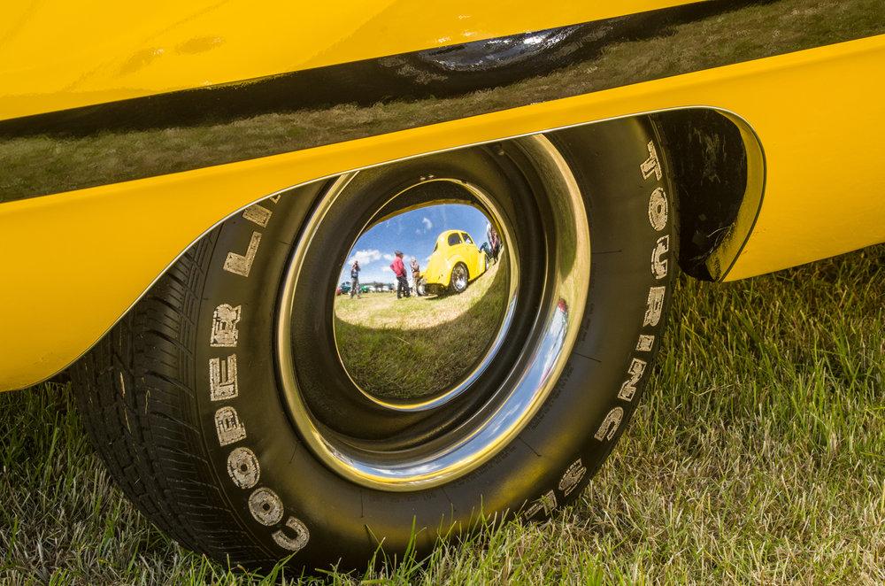 Yellow Custom Cars
