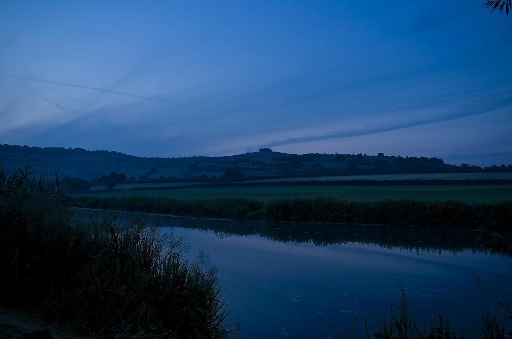 Dawn over saltford