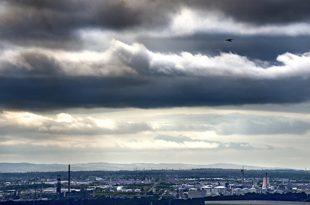 From Helsby Hill