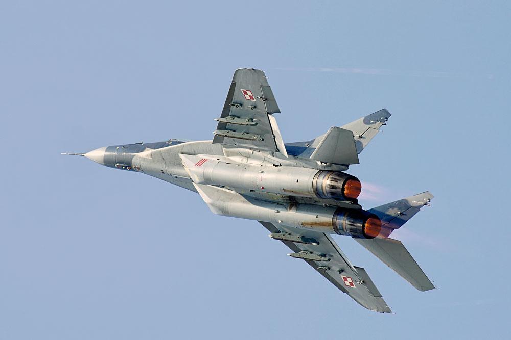 """Polish Mig 29A """"Fulcrum"""""""