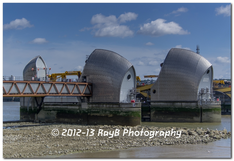 Thames Barrier: When the tide goes out