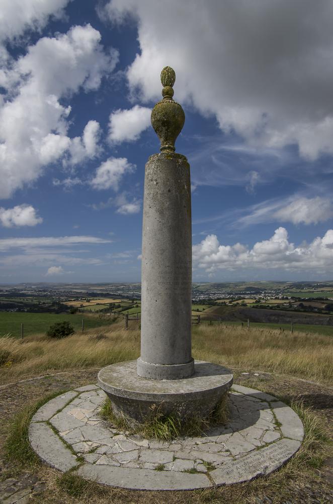 Codden Hill Monument Devon