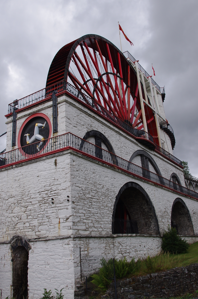 """""""Lady Isabella"""",   Laxey wheel"""