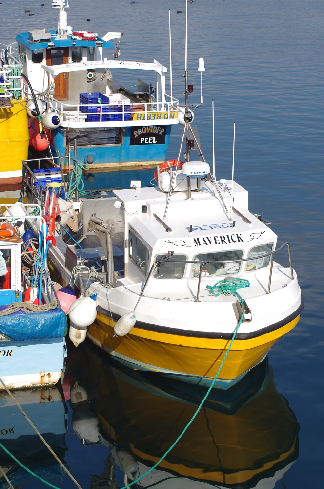 """Maverick"" , Peel Jetty, Isle Of Man"