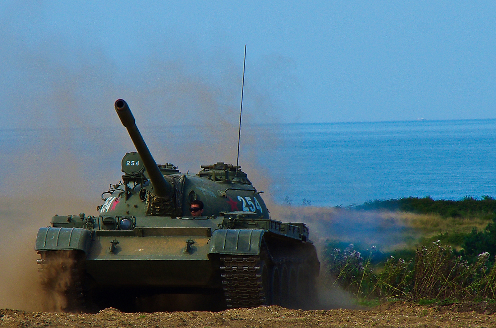 T55 moving