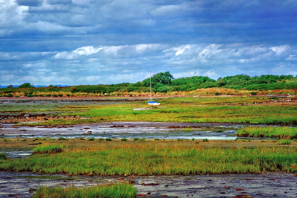 Low tide near Sarzeau, Brittany
