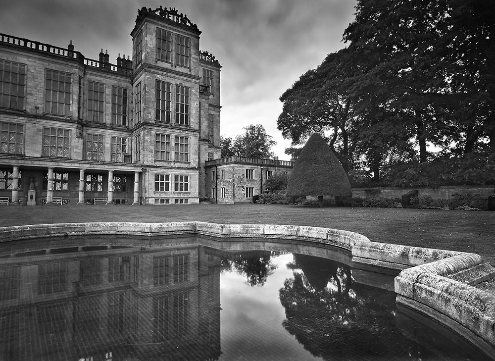 Reflection of Hardwick Hall