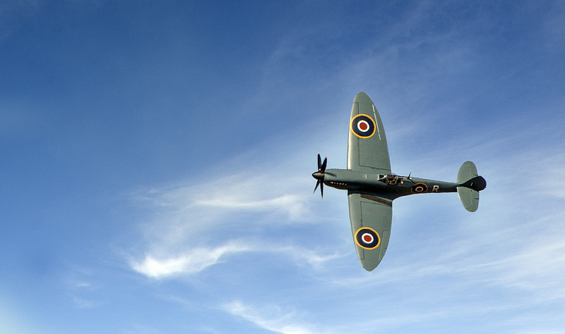 Spitfire at Southport Air Show