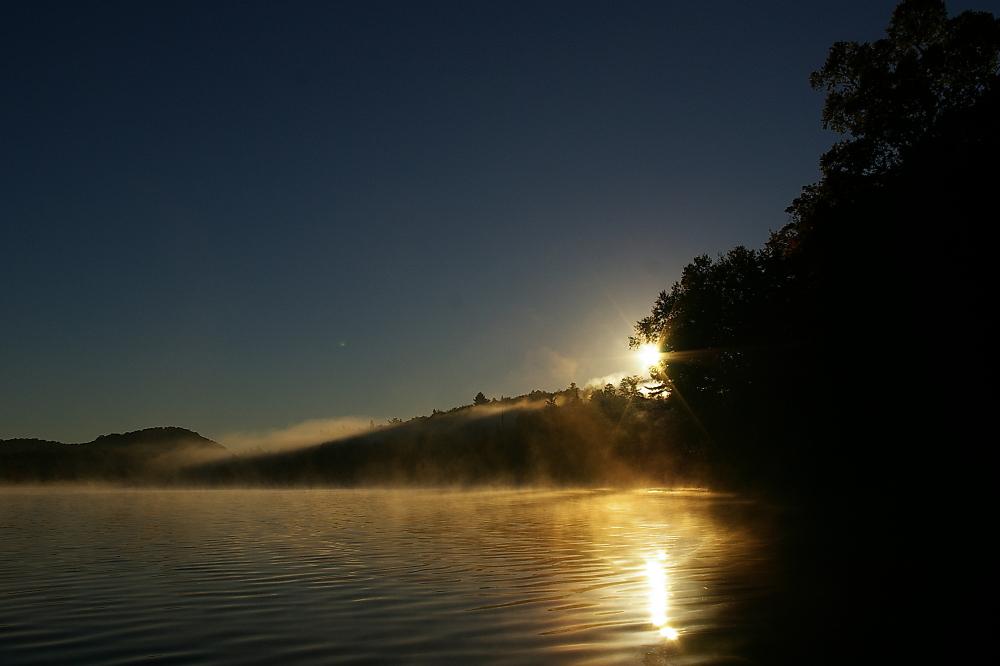 Sunrise On The Misty Morning