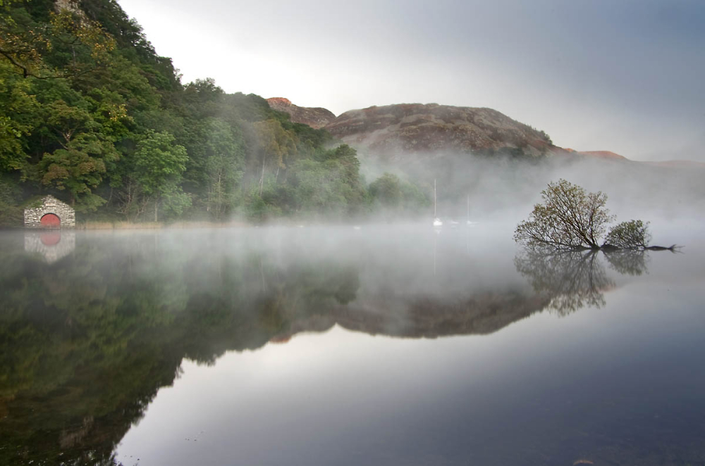 Misty Lakes Morning
