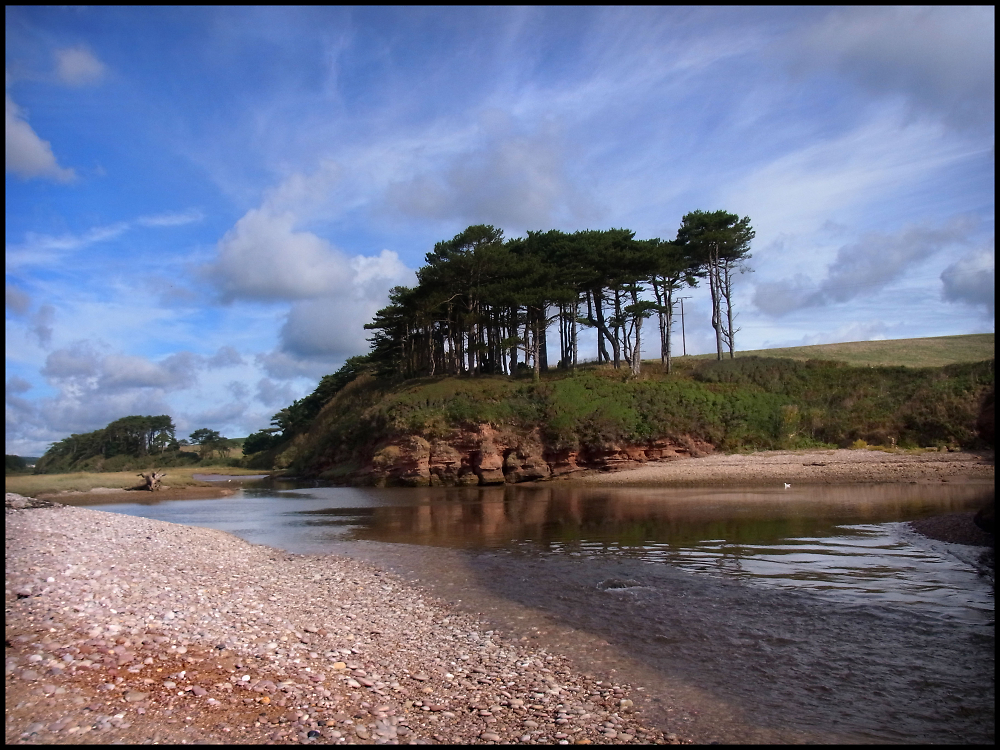 Mouth of the River Otter, Devon