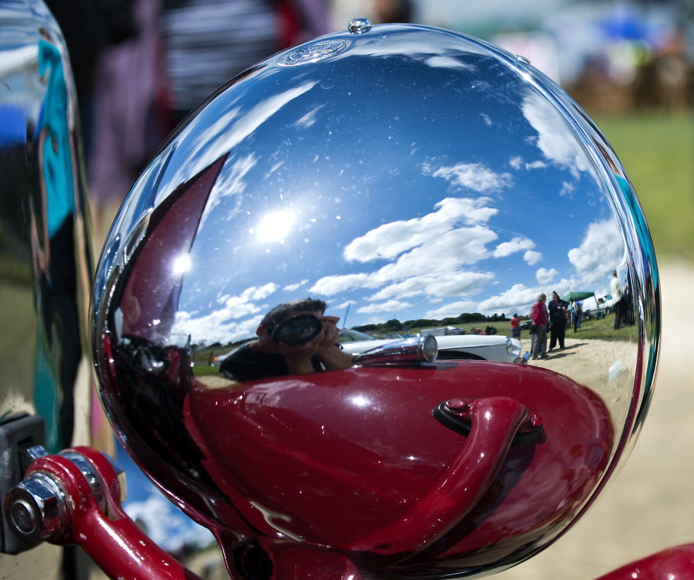 Reflection In Chrome