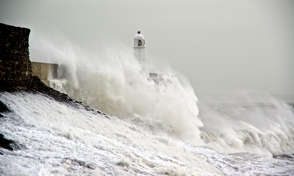 Stormy Seas - Porthcawl