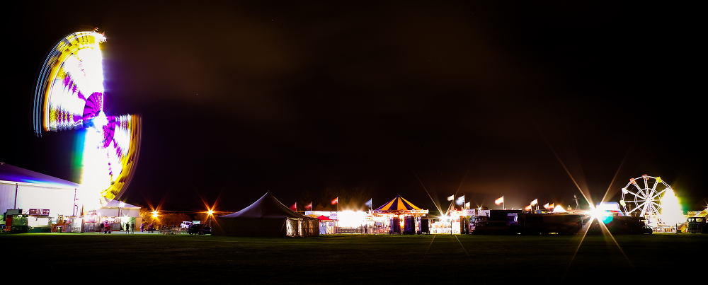 A&P Show at night