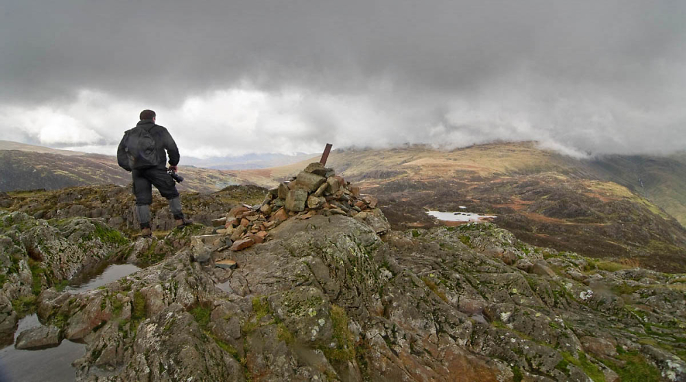 Alone on The Summit