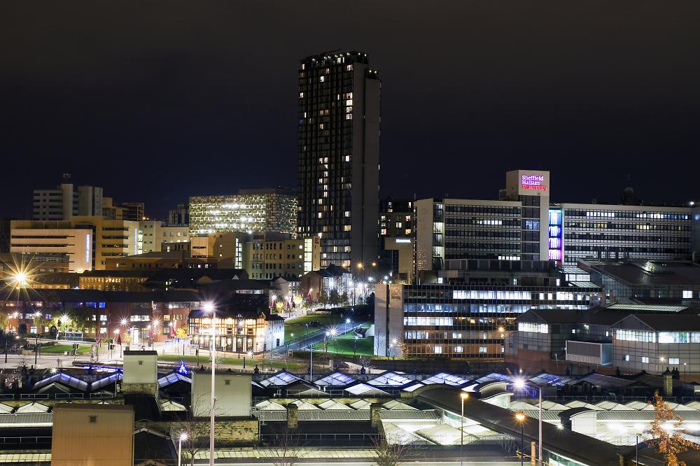 Sheffield by Night