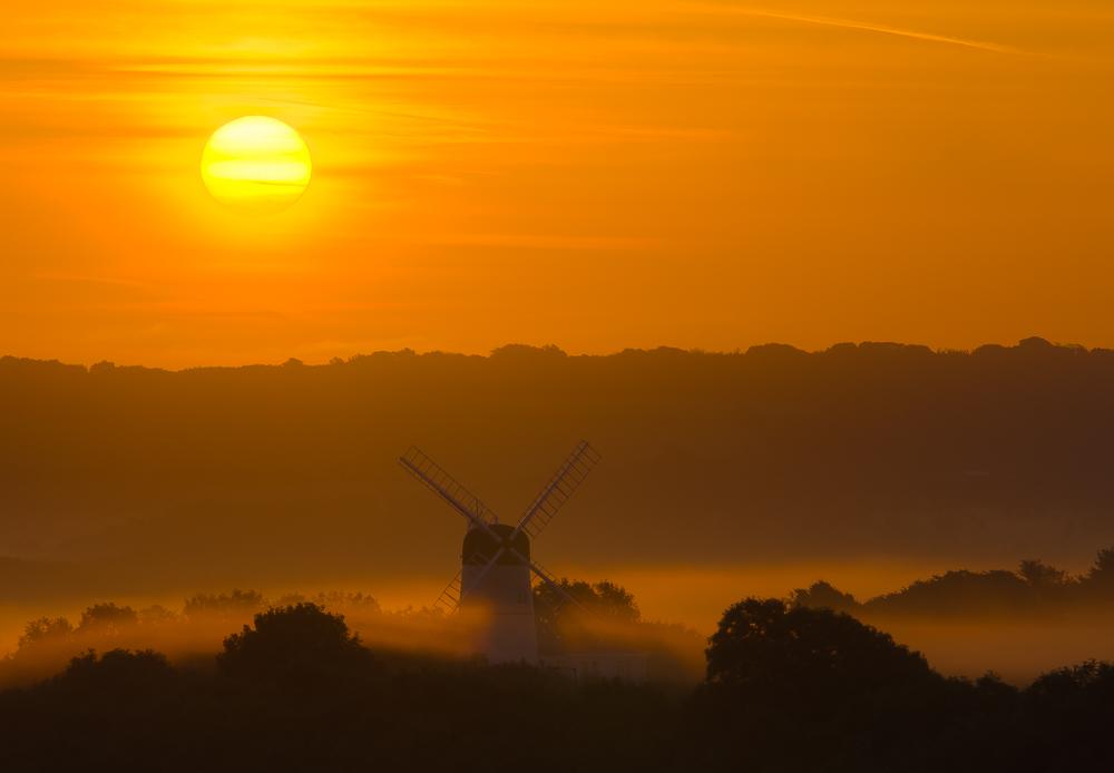 sunrise - South Downs