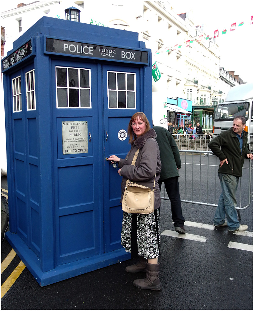 A Tardis Of Our Very Own