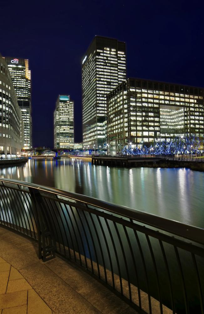 Canary Wharf Night 4