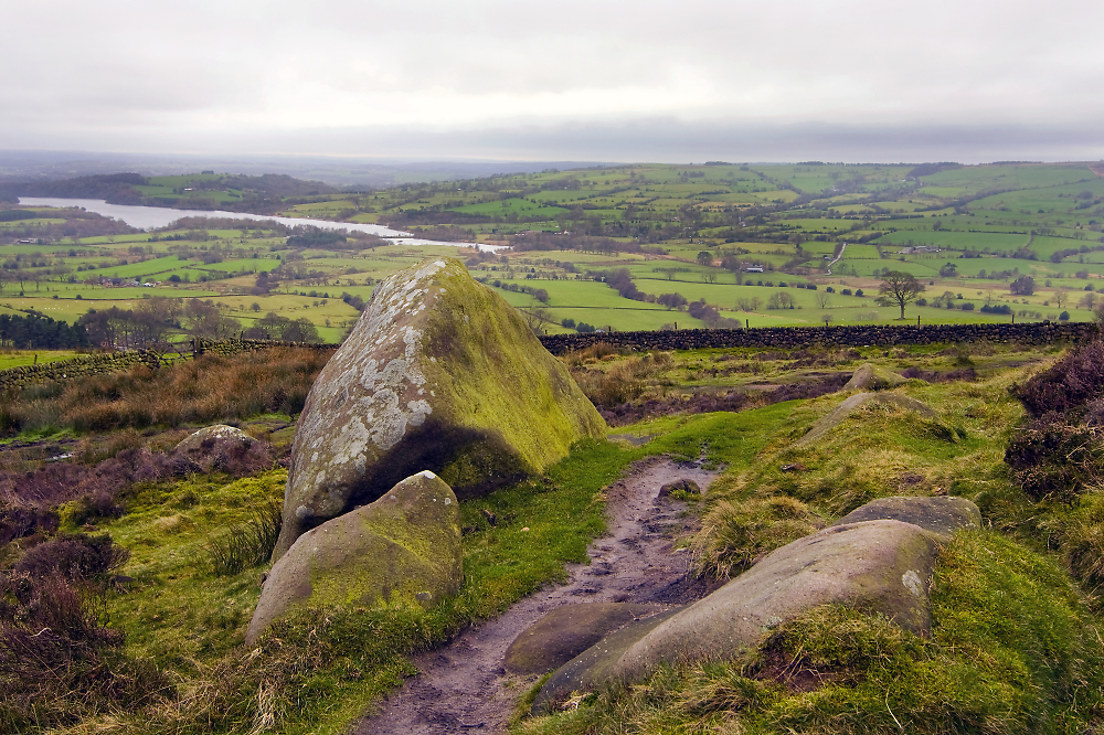 Grey Day at the Roaches 2