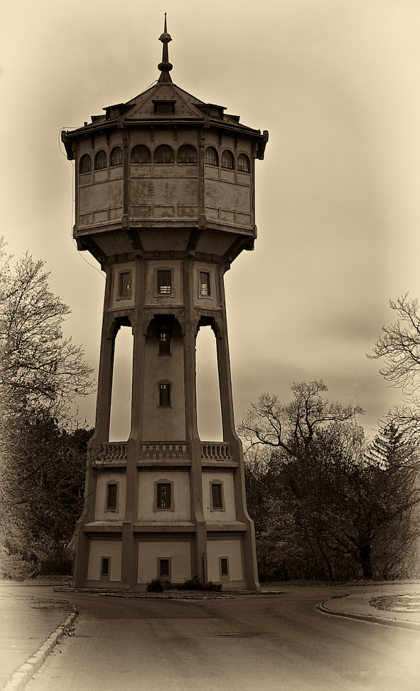Water tower on Swabian Hill