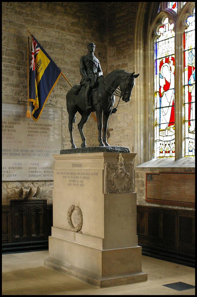 Equestrian Statue, Mells, Somt.