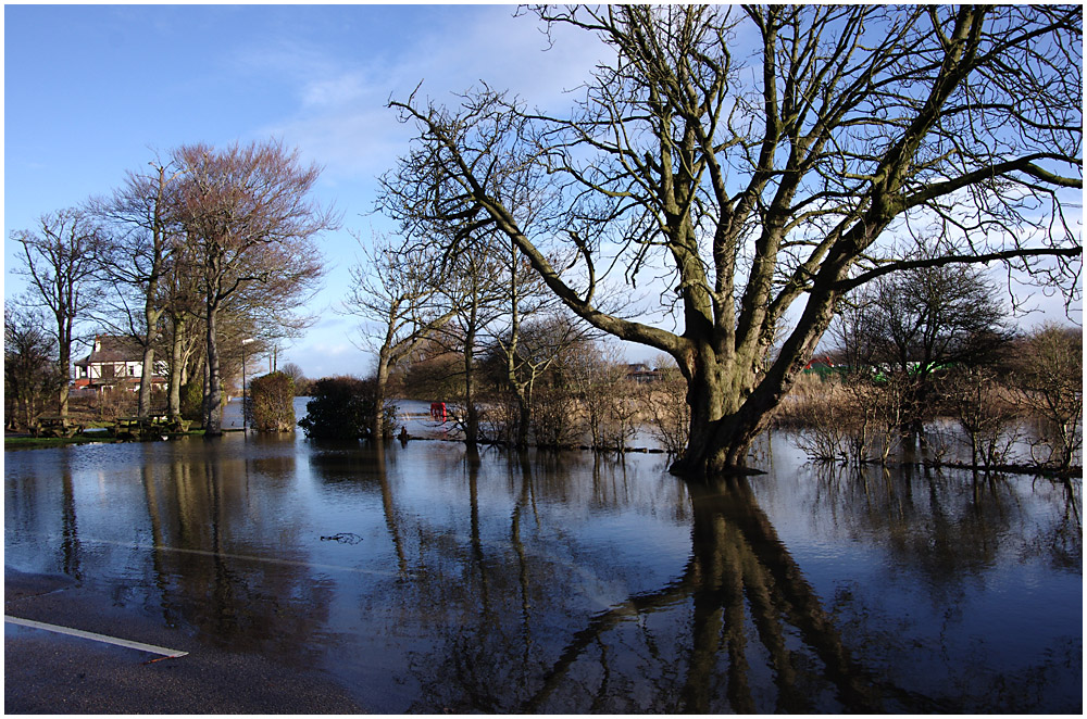 Flooding at Skippool