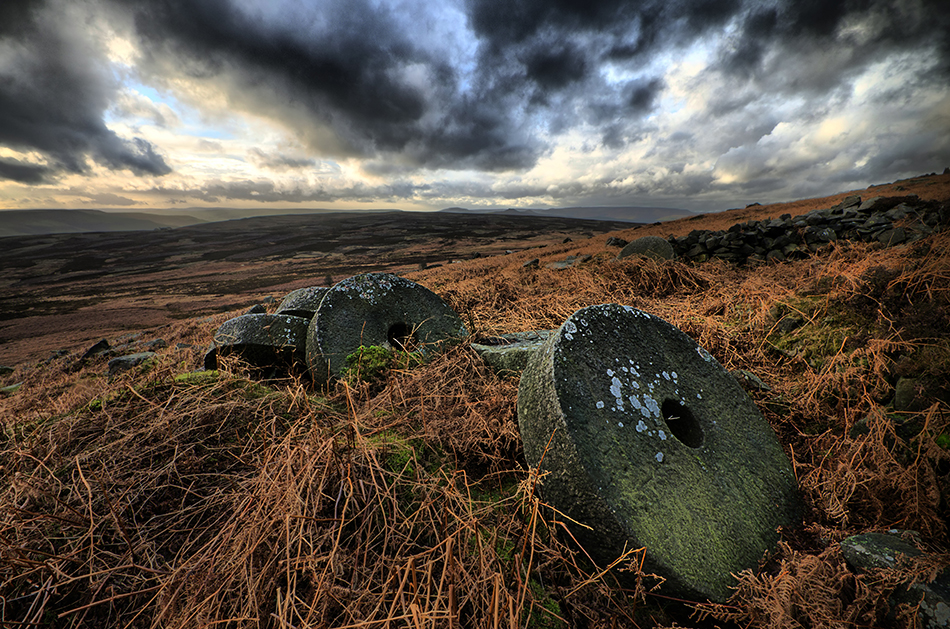Millstones Stanage Edge