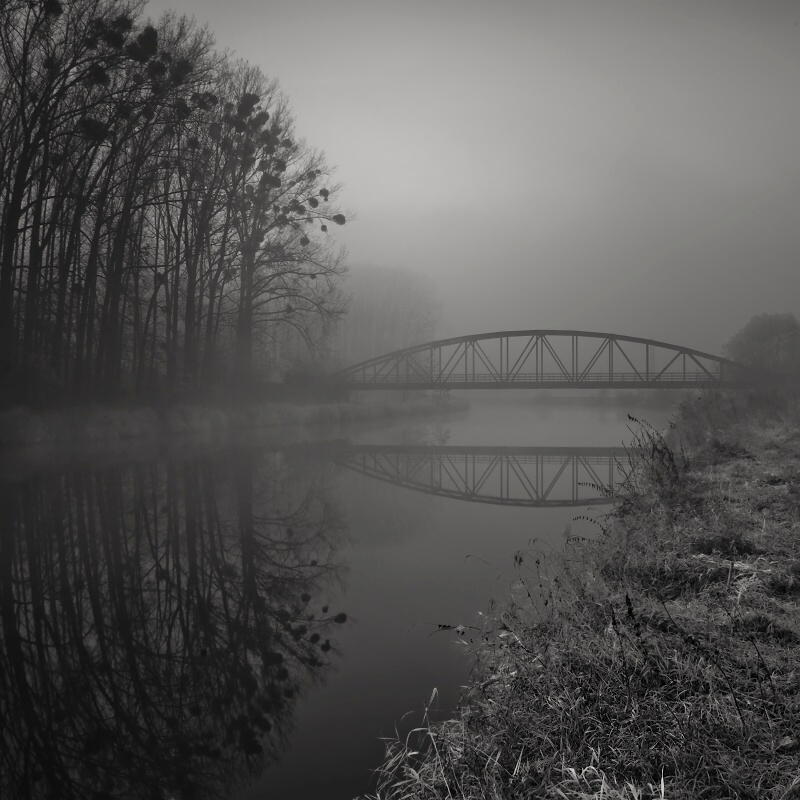 near the old bridge...